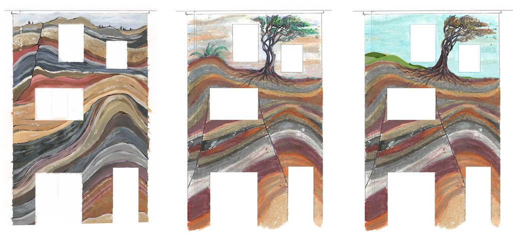 Mural_House_Geology_Sketches