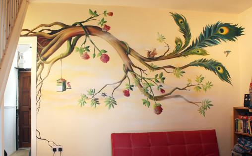 Mural-LivingRoomTree