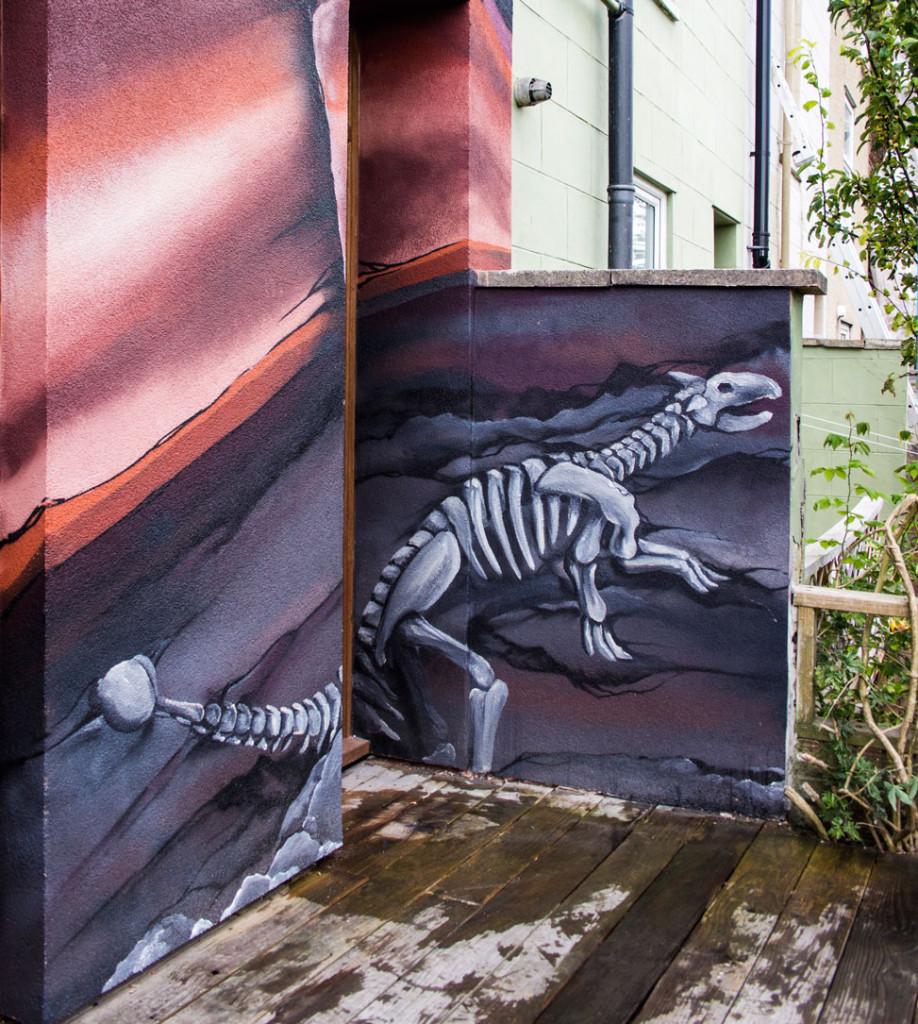 Mural_Detail_Dinosaur-ankylosaurus